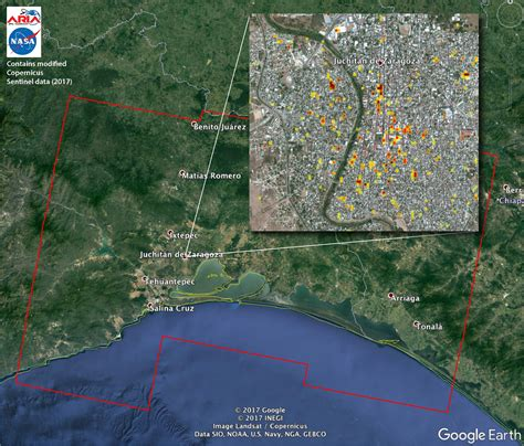 Space Images | Satellite Radar Detects Damage from Sept
