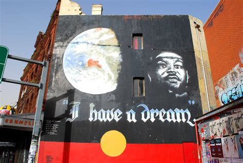 i have a dream | Martin Luther King mural in Newtown, NSW