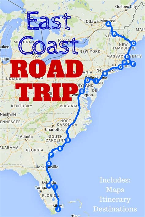 The Best Ever East Coast Road Trip Itinerary   East coast