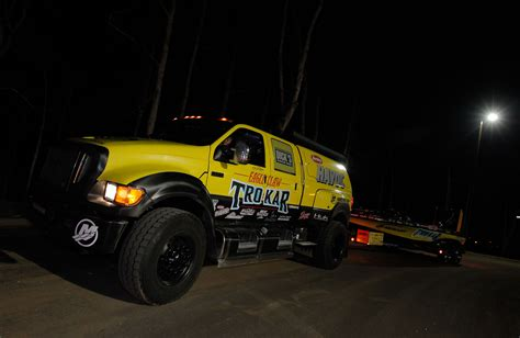 Hauling Boats For The Bassmaster Elite Series Photo