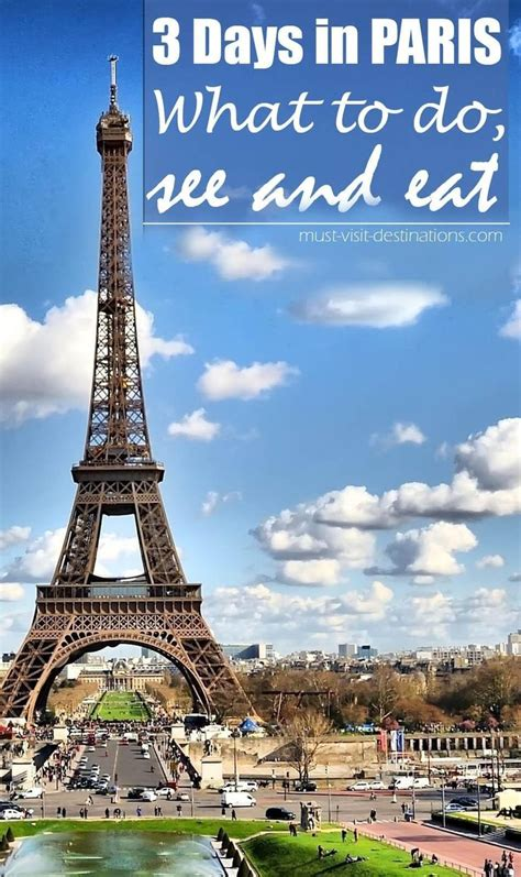 Best Things to do in Paris In 3 Days | Must Visit