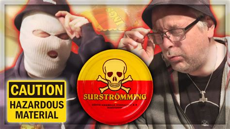 """Anomaly on Twitter: """"NEW VIDEO: ANOMALY TRIES SURSTRÖMMING"""