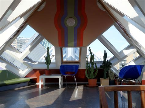 Cube houses controversial design by architect Piet Blom