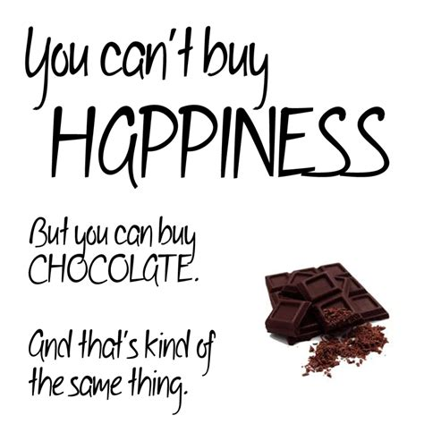 Inspirational Quotes About Chocolate
