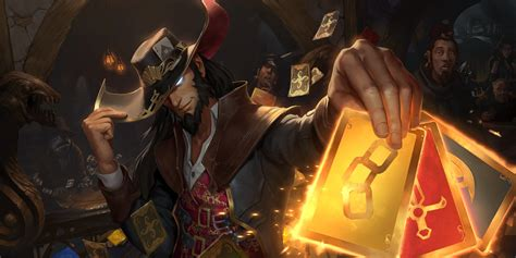Twisted Fate comes to Legends of Runeterra, holding all