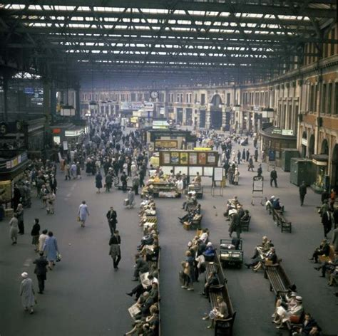 Wonderful 20th Century Pictures of Waterloo Station