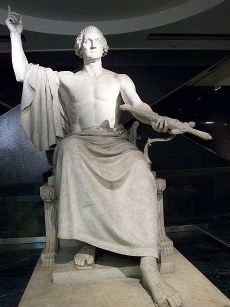 Statue of George Washington by Horatio Greenough   Flickr