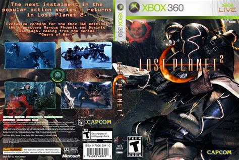 Lost Planet 2 - XBOX 360 Game Covers - Lost Planet 2 DVD
