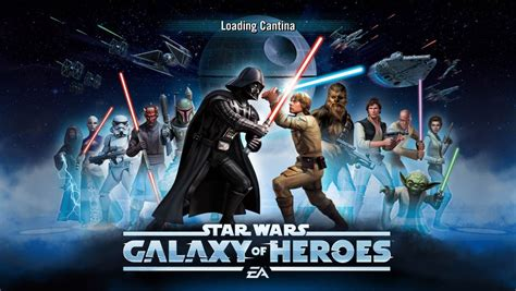 Star Wars - Galaxy of Heroes mobile game review