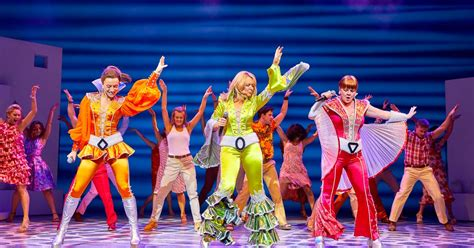 Mamma Mia how can we resist you? ABBA musical delights