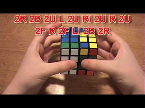 How To Solve The 4x4 Rubik's Cube (Part 2) - YouTube