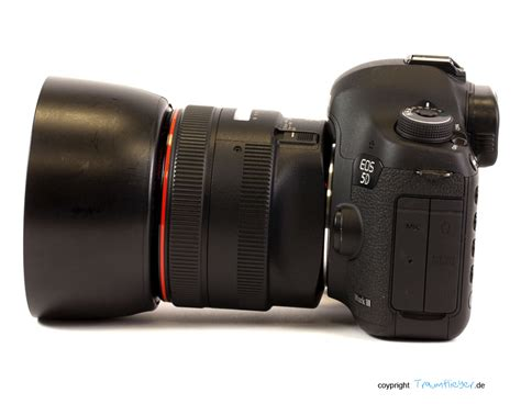 Traumflieger: Canon EF 50mm f/1,0 L USM