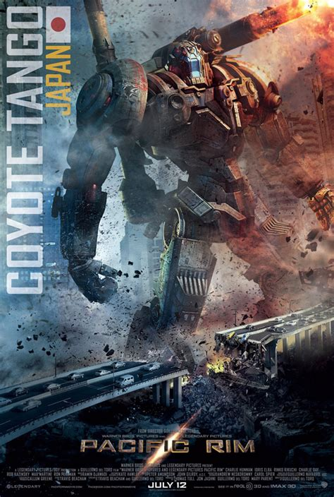 New 'Pacific Rim' Poster Showcases Japanese Robot Coyote